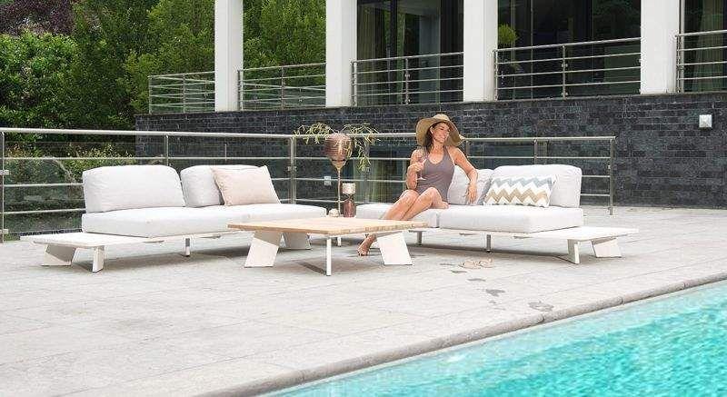 4 SEASONS OUTDOOR Sofá para jardín Salones completos de jardín Jardín Mobiliario  |
