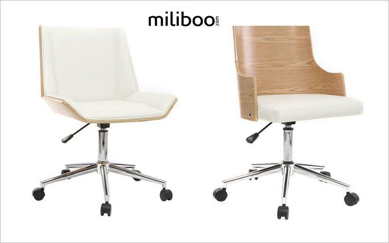 Miliboo Silla de despacho Sillas de oficina Despacho  |