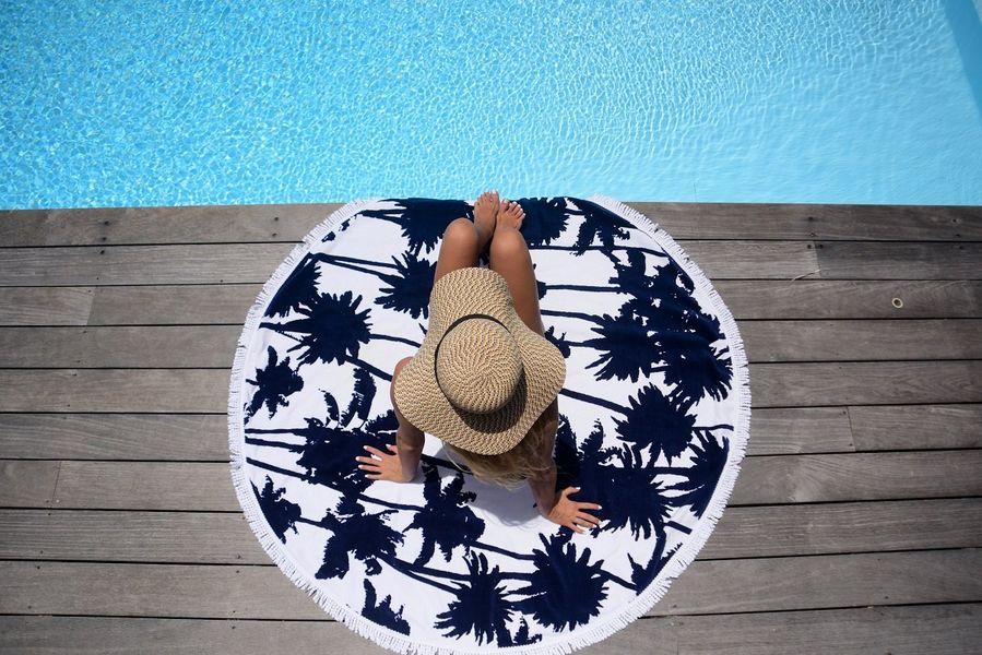 LES ANTILLAISES Toalla de playa Ropa de baño & juegos de toallas Ropa de Casa  |