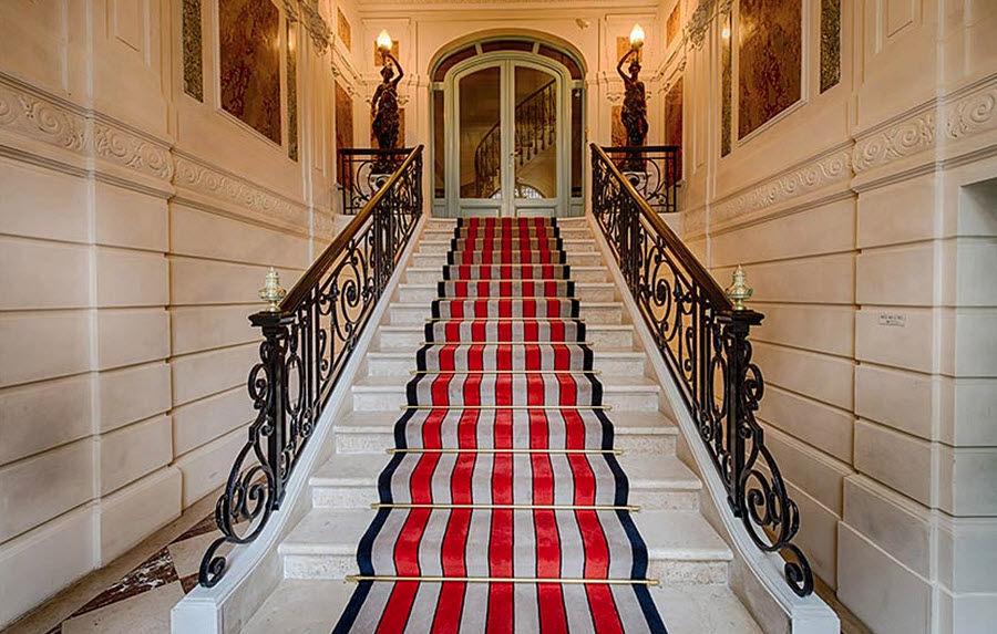 Casa Lopez Alfombra de escalera Alfombra de entrada Alfombras Tapices  |