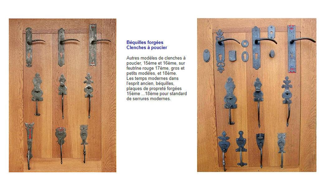Atelier Des Metaux Pestillo Ferretería, cerraduras & herrajes para puertas Puertas y Ventanas  |
