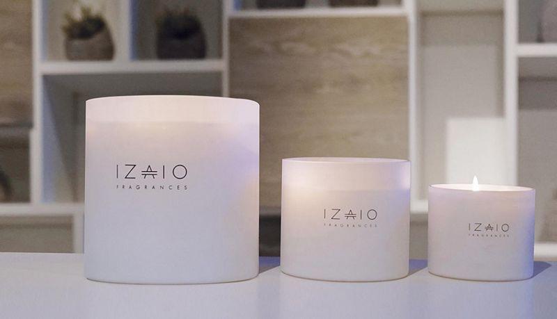 IZAIO FRAGRANCES Vela perfumada Velas & palmatorias Objetos decorativos   
