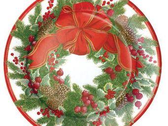 CASPARI -  - Plato De Cartón De Navidad
