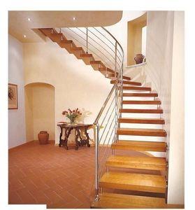Escalera dos cuartos de giro