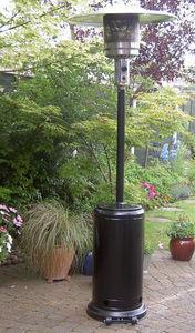 Paraguas calentado a gas