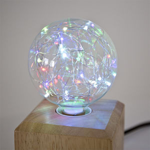 Bombilla LED-NEXEL EDITION-Fantaisie RGB Globe