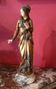 Art & Antiques - bronze carrier-belleuse - Criselefantina