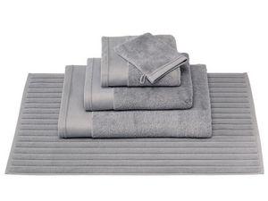 BLANC CERISE - drap de bain - coton peigné 600 g/m² - uni - Alfombra De Baño