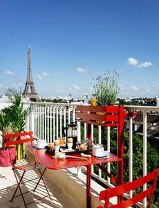 Fermob - table balcon-- - Mesa De Balcón