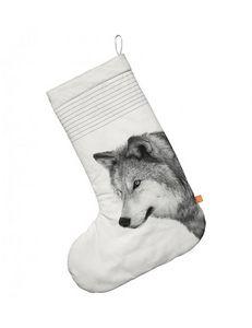 BY NORD - christmas sock, oversize, wolf - Calcetín De Navidad