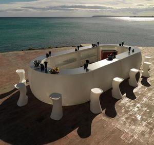 VONDOM - fiesta-- - Barra De Bar Para Jardín