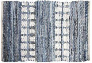 Aubry-Gaspard - tapis rectangulaire en jeans - Alfombra Contemporánea
