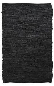 Aubry-Gaspard - tapis en cuir et coton - Alfombra Contemporánea