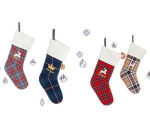 FRENCH KING - ecossais - Calcetín De Navidad