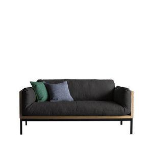 ANOTHER BRAND - canapé legna - 2 places - Sofá 2 Plazas
