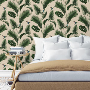 PAPERMINT - jungle sable - Papel Pintado