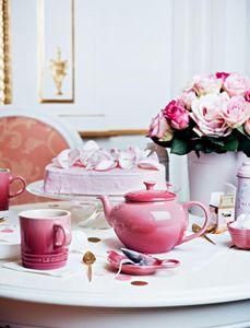 Le Creuset - rose quartz - Servicio De Té