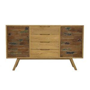 Mathi Design - enfilade scandinave wood - Cómoda