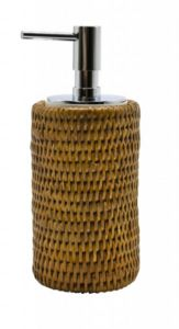 ROTIN ET OSIER - cylindrique push miel - Distribuidor De Jabón
