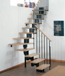 Safety Stairways -  - Escalera Con Tramo Curvo
