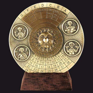 HEMISFERIUM - calendrier perpétuel - Calendario