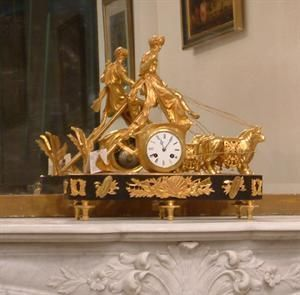 Abj Cheminees Anciennes -  - Reloj De Apoyo