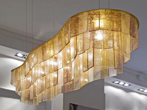 Adriana Lohmann - golden clouds - Lámpara Colgante