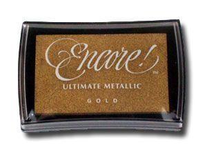 The English Stamp Company - encore - gold - Timbre De Tinta