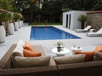 CARON PISCINES - bassin nage - Piscina Tradicional