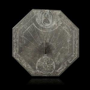 Expertissim - cadran solaire avec buste de napoléon ier - Reloj De Sol