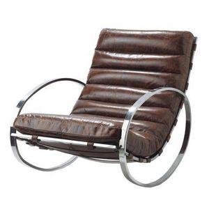 Maisons du monde - fauteuil à bascule freud - Mecedora