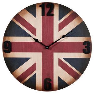 Maisons du monde - horloge circle uk vintage - Reloj De Cocina