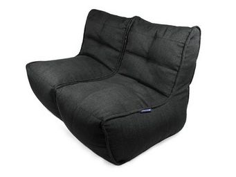 AMBIENT LOUNGE - twin couch - black sapphire - Sill�n Bajo