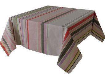 Les Toiles Du Soleil - nappe rectangulaire sakura - Mantel Rectangular
