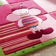 ESPRIT - tapis de chambre bee rose 70x140 en acrylique - Alfombra Para Niño