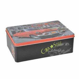 WHITE LABEL - boite à sucre cuba - Cajas De Galletas
