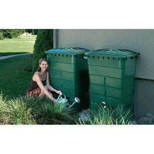GARANTIA - kit 2 cuves de récupération d'eau de pluie 300 li - Recuperador De Agua