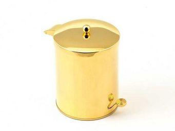 Cristal Et Bronze -  - Papelera De Cuarto De Baño
