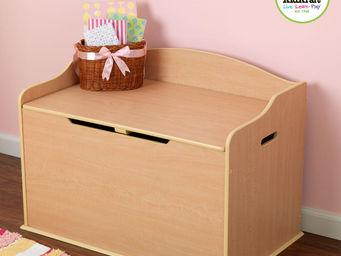 KidKraft - coffre � jouets naturel en bois 76x46x54cm - Ba�l Para Juguetes