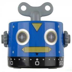 La Chaise Longue - minuteur robot ii bleu - Minutero