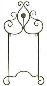 Demeure et Jardin - paire de porte assiette vert de gris - Estantería Para Platos
