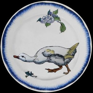 Au Bain Marie - bracquemond - Plato Decorativo
