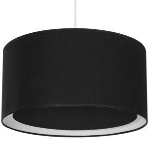 Metropolight - essentiel - suspension occultant ø39cm noir   susp - Lámpara Colgante