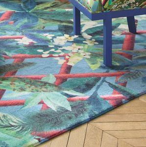 Christian Lacroix - canopy turquoise - Alfombra Contemporánea