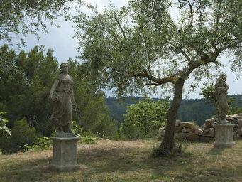 TERRES D'ALBINE -  - Estatua