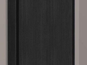 WHITE LABEL - armoire lit escamotable cronos, ch�ne noir. matela - Armario Cama
