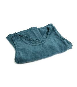 Couleur Chanvre - tablier couleur bleu du sud - Delantal De Jardín