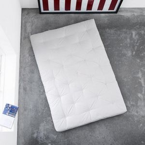 WHITE LABEL - matelas futon coco 120*200*16cm - Futón