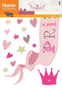 Nouvelles Images - sticker mural princess - Adhesivo