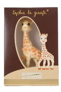 LES  NOUGATS STANISLAS - sophie la girafe® en chocolat - Confiteriá